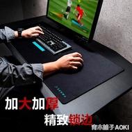 日本SANWA超大桌墊滑鼠墊加長游戲鍵盤墊辦公寫字台桌面家用辦公