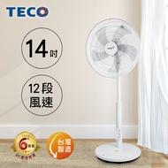 TECO東元 14吋DC馬達ECO遙控擺頭風扇 XA1490BRD