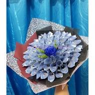 bouquet gubahan duit termasuk duit cash