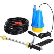 洗車機 12V車載洗車機 220V高壓水槍家用便攜式洗車器刷車神器洗車水泵搶