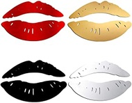 LWY Pcs Mirror Wall Sticker,Lip Wall Sticker DIY Art Mural Home Decor 3D Mirror Wall Stickers