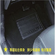 HONDA汽車集塵踏墊-專車專用1998~2002 一代CRV