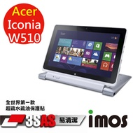 iMOS 宏碁 Acer Iconia W510 3SAS 防潑水 防指紋 疏油疏水 螢幕保護貼