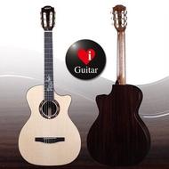 Magic N3 跨界真古全單古典吉他 AAA 德國雲杉面板/印度玫瑰木全單古典吉他上海樂器展新品iGuitar強力推薦
