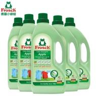 Frosch德國小綠蛙  天然增豔洗衣精 1500ml x5瓶/箱