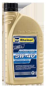 德國  SWD Rheinol PRIMUS DXM 5W40 合成機油 #2562