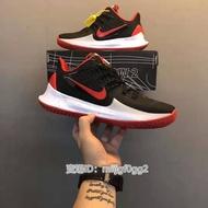 """新款 Nike Kyrie Low 2 """"Black White""""歐文2代 低幫 實戰 黑紅 休閒運動籃球鞋"""