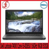 Dell LAPTOP Latitude 7400 (14  Full HD Intel Core i5-8265U 16GB 512GB SSD WIN 10 PRO