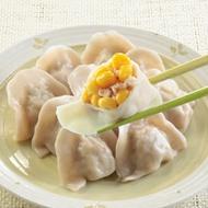 士東市場【123水餃】玉米豬肉水餃10顆