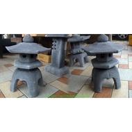 【路卡傢飾~園藝造景】景石 仿石 3號 石燈 公園燈 花園燈 花圃 庭園 餐廳 設計