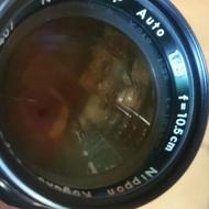 老機師 鏡頭 美品 nikon 105mm f2.5 non ai 單眼相機