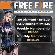 ✙❅Free Fire | Free Fire Diamond | Instant Topup Free Fire Diamond | 100% Legit