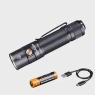 ใหม่ Fenix E35 V3.0ไฟฉาย LED 3000 Lumens มาพร้อมกับแบตเตอรี่21700 City การเดินทางหรือกลางแจ้ง