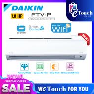 DAIKIN 1.0HP Smart Control - Wifi R32 Non Inverter Air Conditioner - FTV-P Model Air cond FTV28PB / RV28F-3WM-G1F