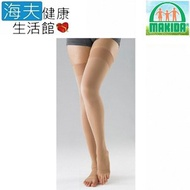 MAKIDA醫療彈性襪未滅菌 彈性襪系列240D大腿襪露趾(119H)L號
