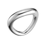 【Georg Jensen 喬治傑生】Georg Jensen 喬治傑生 - OFFSPRING 純銀簡約戒指(10013246-50)