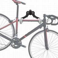 【自行車壁掛架-ST4-鋁合金+塑膠-1套/組】單車掛壁式停車架掛鉤展示架多角度調節-527058