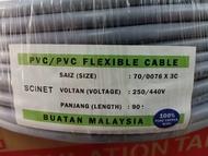 Scinet Flexible Cable Wayer 3C X 70/076