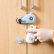鯨魚兒童安全抽屜鎖/ 安全鎖 櫃門鎖 冰箱鎖 衣櫃鎖 防護用品