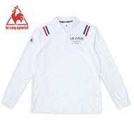 法國公雞牌長袖POLO衫 LWK2124290-男-白