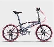 Hito Aluminium Alloy Foldable Bike / Foldable Bicycle / Folding Bike 7 Speeds/ Light Weight/ Magnesium Alloy Wheels [FREE SHIPPING]