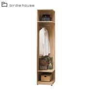 【柏蒂家居】席拉1.5尺多功能轉角衣櫃/開放式牆角衣櫃