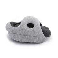 【原生良品】舒適趴睡多功能鴕鳥枕/午睡枕/手枕/趴睡枕(深灰色)