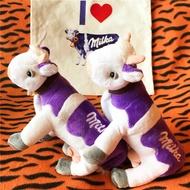 ✿Milka 巧克力 紫色乳牛 公仔 擺件