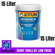 Jotun Jotashield AntiFade Exterior Wall Paint / Cat Luar Dinding Rumah 15L - 15 Liter
