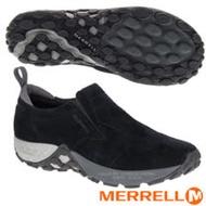 【美國 MERRELL】男新款 Jungle Moc AC+ 輕量戶外透氣休閒鞋.懶人鞋.慢跑鞋.健走鞋/FIT.ECO抗菌防臭鞋墊.EVA中底/J91701 黑