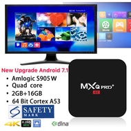 MXQ Pro/Pro+ 4K Android 6/7 Amlogic S905X/W Quad Core 1GB/2GB RAM 8GB/16GB ROM TV BOX WIFI