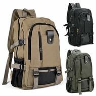 กีฬาMountaineeringเดินทางอุปกรณ์เสริมDouble-กระเป๋าสะพายบ่ากระเป๋ากระเป๋าเดินทางผู้ชายกระเป๋าเป้สะพายหลังผ้าใบ