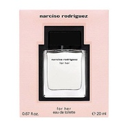 Narciso rodriguez for her 淡香水 20ml