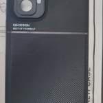 小米紅米note 10 Pro 手機套 黑色~1個 玻璃貼~1張 鏡頭貼~1張 樂富交收