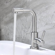 304 stainless steel basin faucet bathroom sink bathroom hot and cold faucet