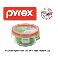 [Shop Malaysia] PYREX® Snapware® 1109308 Total Solution 1 Cup@236ml Small Round With Four Tab Locking Lid