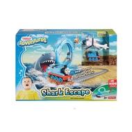 全新 湯瑪士大冒險-鯊魚逃跑軌道組