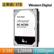 【贈MyCard 150點】WD Ultrastar DC HC310 4TB 3.5吋 企業級硬碟(HUS726T4TALA6L4)+【MyCard】150點