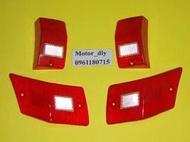 【motor_diy】偉士牌VESPA.PX150E.T5專用方向燈殼.(紅)...有反光片
