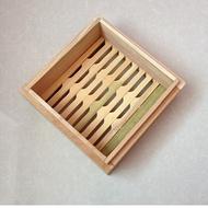 正方形蒸籠竹子木質蒸籠包子饅頭蒸籠家用商用籠屜鮑魚小籠包專用