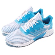 【adidas 愛迪達】慢跑鞋 Climacool 2.0 低筒 運動 男鞋 愛迪達 路跑 透氣 舒適 避震 健身 藍 白(B75874)