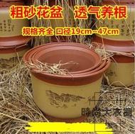 高檔紫砂花盆梅花蘭花盆盆景陶瓷花盆