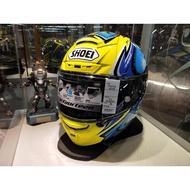 瀧澤部品 日本 SHOEI X-Fourteen X-14 全罩安全帽 DAIJIRO 加藤大治郎 藍 頂級 選手