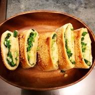 純手工手擀三星蔥燒餅