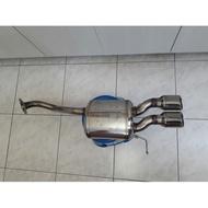 Honda FIT3 日本無限Mugen 尾段排氣管