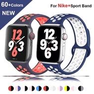 สายนาฬิกาข้อมือ สาย applewatch Apple Watch watch 6 SE ซีรีส์ 5 4 3 2 1 42 มม. 44 มม. 40 มม.38 มม