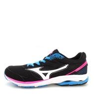 Mizuno Wave Aero 16 [J1GB173503] 女鞋 運動 走路 跑步 氣墊 避震 休閒 美津濃 黑白