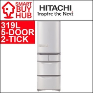 HITACHI R-S42GS 319L 5-DOOR FRIDGE (2 TICKS)