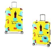 (ผ้ายืด พิมพ์ลาย ขนาด XL) ผ้าคลุมกระเป๋าเดินทาง ขนาด 29 - 32 นิ้ว มี 10 ลาย 10 แบบให้เลือก