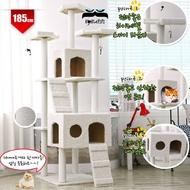 185cm Korean Extra Large Cat Tree Tower Cat House Condo